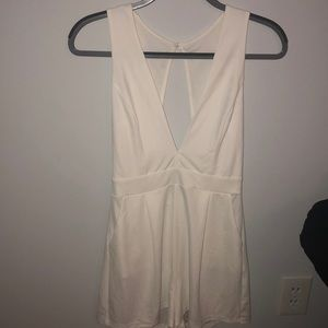 Dresses & Skirts - White romper, never been worn